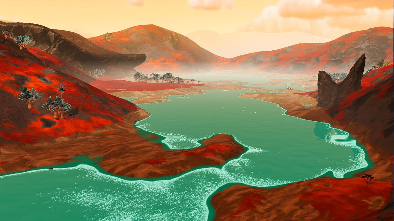 no mans sky temple red planet